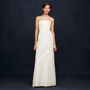 "J. Crew Silk Taffeta ""Clarice"" Wedding Gown"